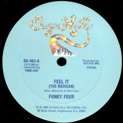 Funky Four – Feel It (The Mexican) (VLS) (1983) (FLAC + 320 kbps)
