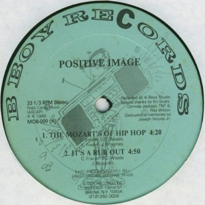 Positive Image – The Mozart's Of Hip Hop EP (Vinyl) (1988) (FLAC + 320 kbps)