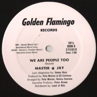 Master Jay – We Are People Too (VLS) (1980) (FLAC + 320 kbps)