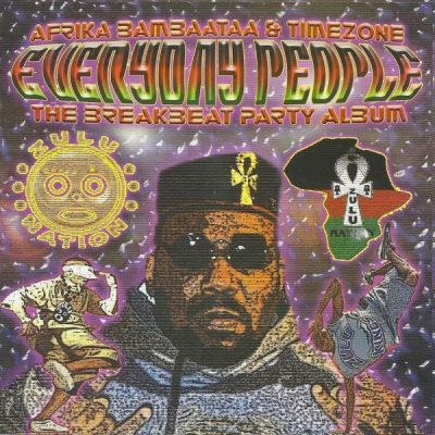 Afrika Bambaataa & Time Zone -Everyday People: The Breakbeat Party Album (Vinyl) (2004) (FLAC + 320 kbps)
