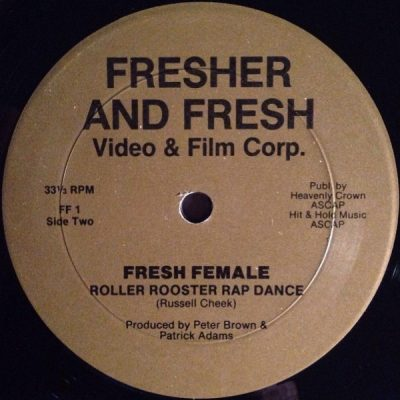 Fresh Female – Roller Rooster Rap Dance (VLS) (1980) (FLAC + 320 kbps)