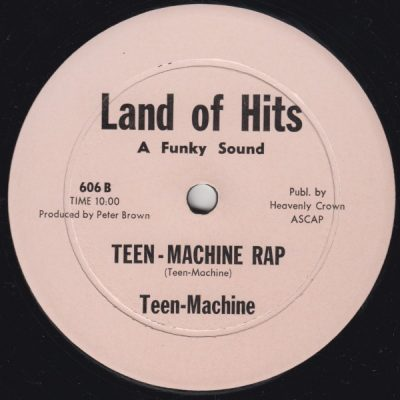Teen-Machine – Teen-Machine Rap (VLS) (1980) (FLAC + 320 kbps)