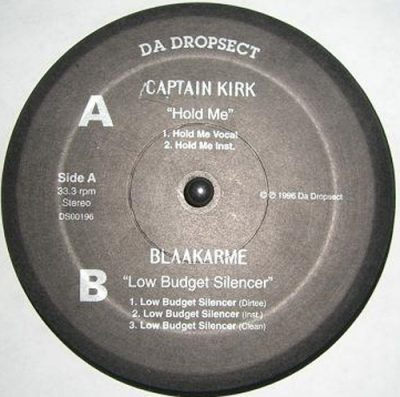 Captain Kirk / Blaakarme – Hold Me / Low Budget Silencer (VLS) (1996) (FLAC + 320 kbps)
