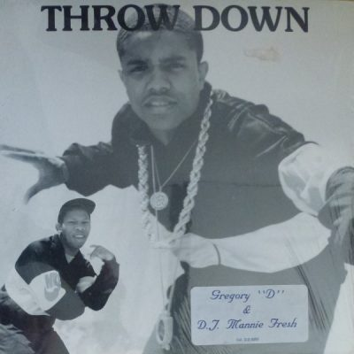 Gregory D & DJ Mannie Fresh – Throw Down (Vinyl) (1987) (FLAC + 320 kbps)