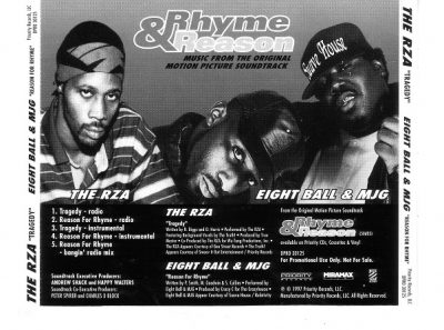 RZA / Eightball & MJG – Tragedy / Reason For Rhyme (Promo CDS) (1997) (FLAC + 320 kbps)