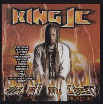 King JC – Ana Off My Chest (Album #16) (CD) (2003) (FLAC + 320 kbps)