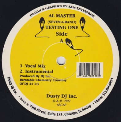 Al Master – Testing One / Ridiculous (VLS) (1997) (FLAC + 320 kbps)