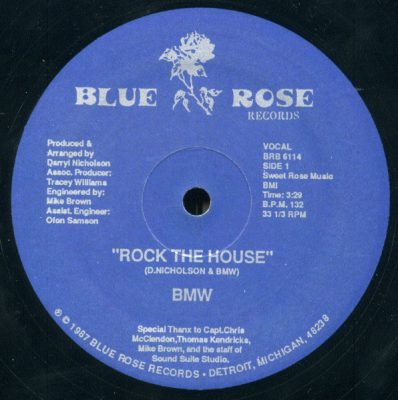 BMW – Rock The House (VLS) (1987) (FLAC + 320 kbps)