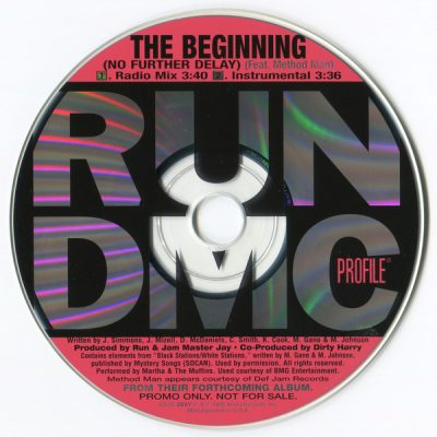 Run-D.M.C. ‎- The Beginning (No Further Delay) (Promo CDS) (1998) (FLAC + 320 kbps)