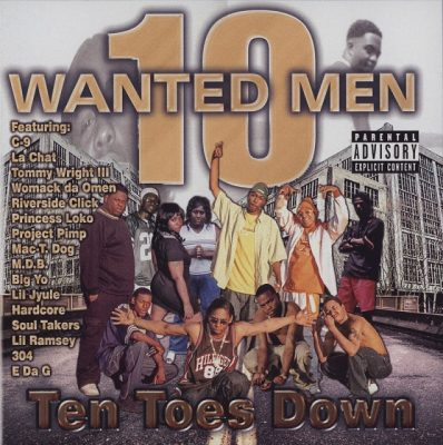 10 Wanted Men – Ten Toes Down (Reissue CD) (1997-2012) (FLAC + 320 kbps)