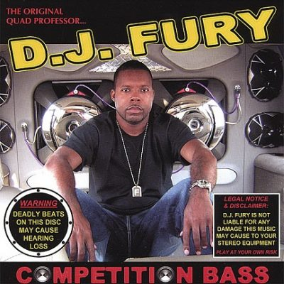 DJ Fury – Competition Bass (CD) (2006) (320 kbps)
