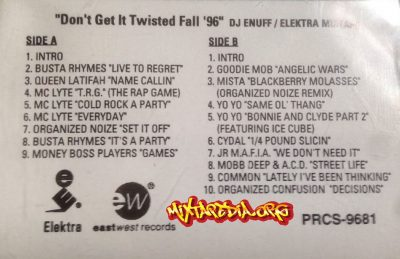 DJ Enuff – Don't Get It Twisted Fall '96 (Cassette) (1996) (320 kbps)