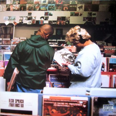 DJ Shadow – Excessive Ephemera (CD) (2005) (FLAC + 320 kbps)
