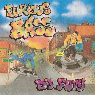 DJ Fury – Furious Bass (CD) (1992) (320 kbps)