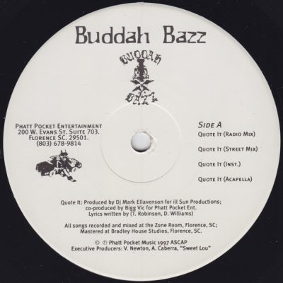 Buddah Bazz – Quote It (VLS) (1997) (FLAC + 320 kbps)