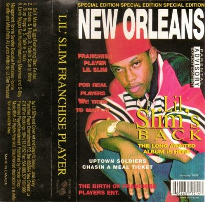 Lil Slim – Franchise Player EP (Cassette) (1998) (320 kbps)