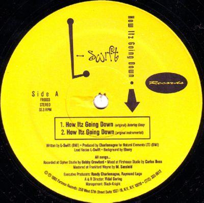 L-Swift – How Itz Going Down (VLS) (1995) (FLAC + 320 kbps)