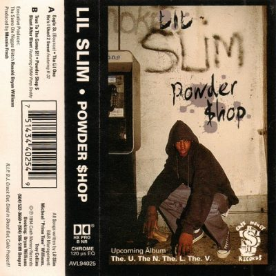 Lil Slim – Powder Shop EP (Cassette) (1994) (320 kbps)