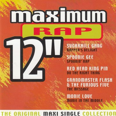 "VA – Maximum Rap 12"" (CD) (2000) (FLAC + 320 kbps)"