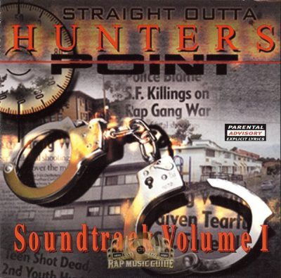 OST – Straight Outta Hunter's Point Volume 1 (CD) (2001) (FLAC + 320 kbps)
