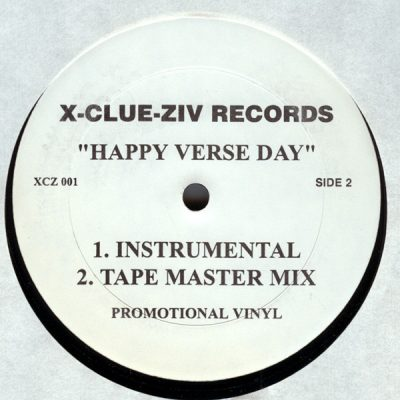 KRS-One, Channel Live & Mad Lion - Happy Verse Day (VLS) (1999) (FLAC + 320 kbps)