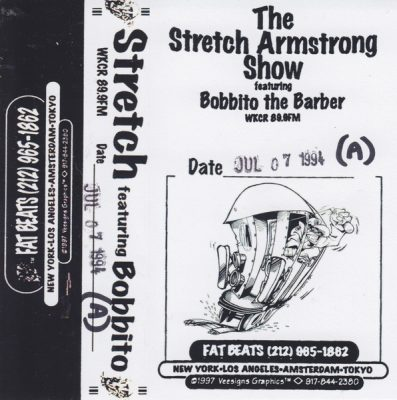 Stretch Armstrong Featuring Bobbito The Barber – The Stretch Armstrong Show WKCR 89.9 FM (Cassette) (1994) (FLAC + 320 kbps)