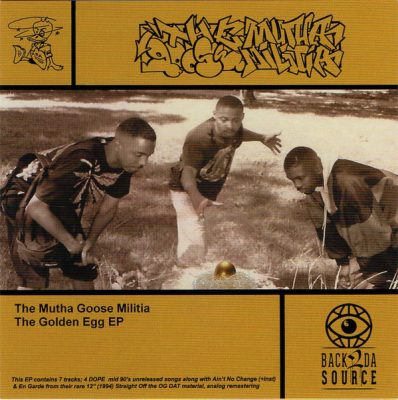 The Mutha Goose Militia – The Golden Egg EP (CD) (2020) (320 kbps)