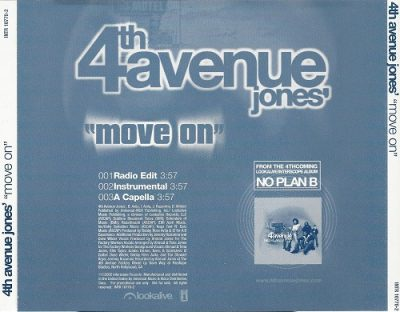 4th Avenue Jones – Move On (Promo CDS) (2002) (FLAC + 320 kbps)