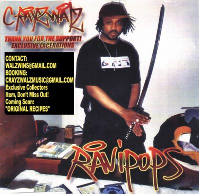 C-Rayz Walz – Off The Radar (Exclusive Lacerations) (CD) (2003) (FLAC + 320 kbps)