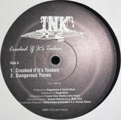 Ink H2O – Crooked If It's Tooken EP (Vinyl) (1999) (FLAC + 320 kbps)