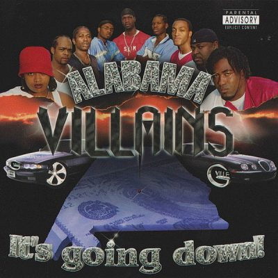 Alabama Villains – It's Goin Down! (CD) (2003) (320 kbps)
