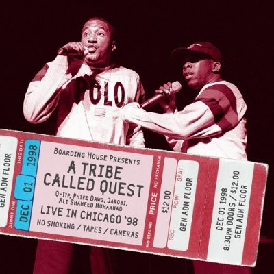 A Tribe Called Quest – Live In Chicago '98 (WEB) (2019) (320 kbps)