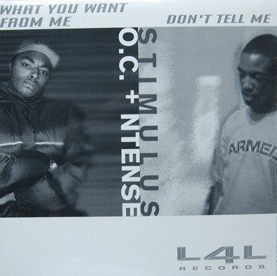 O.C. & Ntense Reese / Stimulus – What You Want From Me / Don't Tell Me (VLS) (2001) (FLAC + 320 kbps)