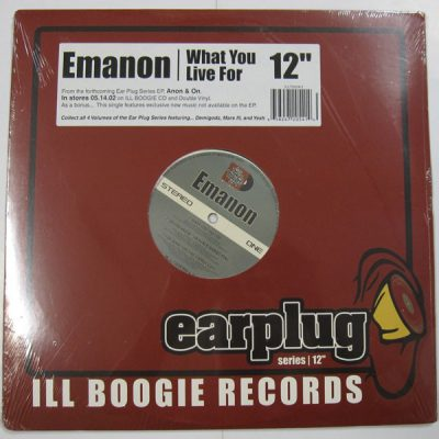 Emanon – What You Live For (VLS) (2002) (FLAC + 320 kbps)