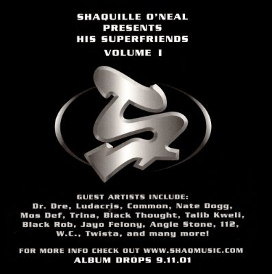 Shaquille O'Neal – Presents His Superfriends Volume I (CD) (2001) (FLAC + 320 kbps)