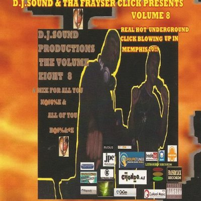DJ Sound – Volume 8. A Mix For All You Niggas & All Of You Bitches (Reissue CD) (1994-2007) (320 kbps)