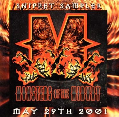 VA – Monsters Of The Midway (Snippet Sampler CD) (2001) (FLAC + 320 kbps)