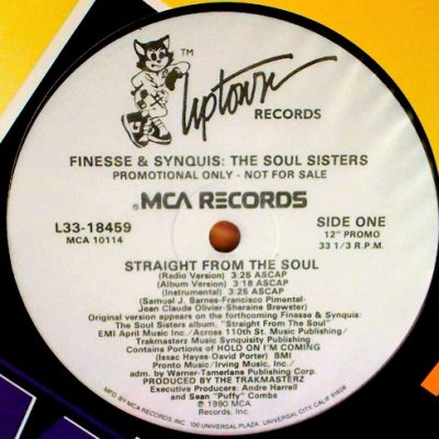 Finesse & Synquis – Straight From The Soul (VLS) (1990) (FLAC + 320 kbps)