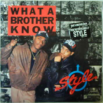 Style – What A Brother Know (VLS) (1990) (VBR V0)