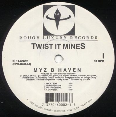 Twist It Mines – Myz B Haven / Who Can Mess With A Pro (VLS) (1993) (VBR V0)