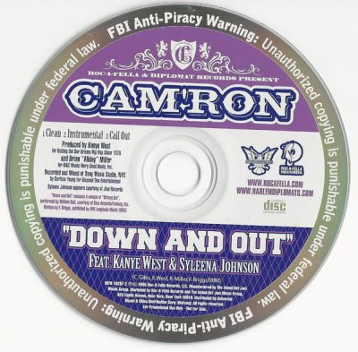 Cam'ron – Down And Out (Promo CDS) (2005) (FLAC + 320 kbps)