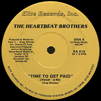 The Heartbeat Brothers – Time To Get Paid (VLS) (1988) (FLAC + 320 kbps)